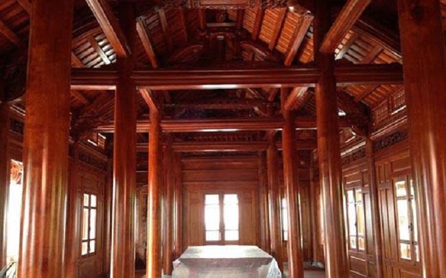 Chi phí xây dựng nhà gỗ lim