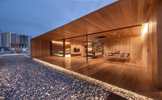 Mẫu biệt thự bằng gỗ