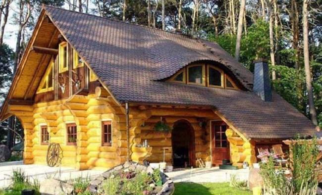Mẫu nhà gỗ cấp 4 cổ tích