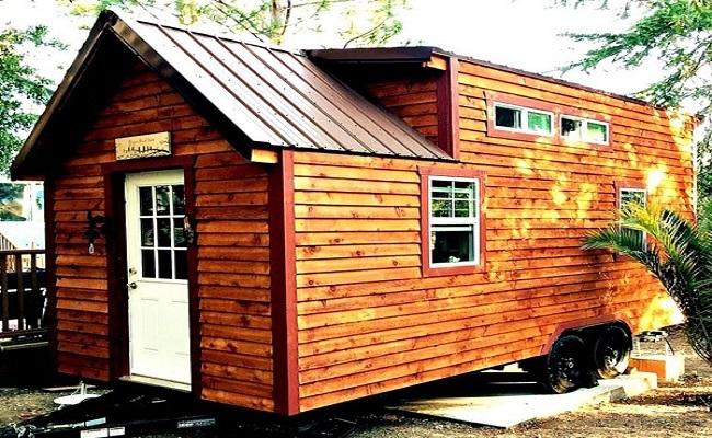 Mẫu nhà gỗ thông đẹp