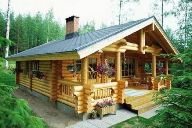 Nhà gỗ 3 gian 5 gian đẹp