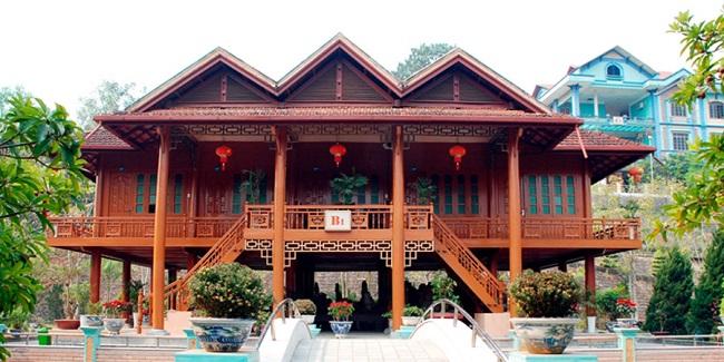 Mẫu nhà gỗ 3 gian 5 gian