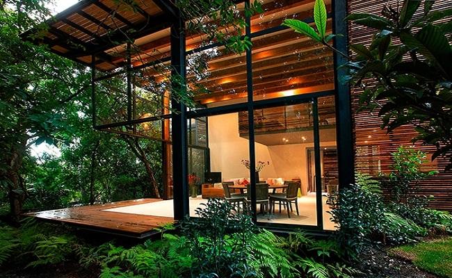 Mẫu nhà vườn đẹp