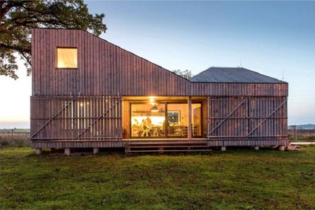 Mẫu nhà gỗ lim đẹp
