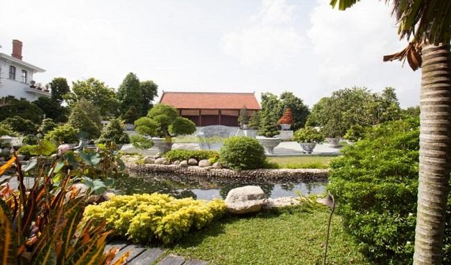 Mẫu thiết kế nhà gỗ sân vườn đẹp