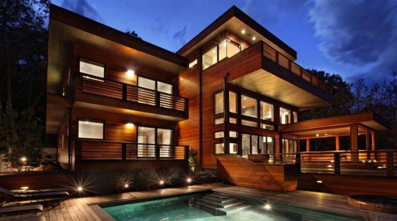 Nhà biệt thự gỗ