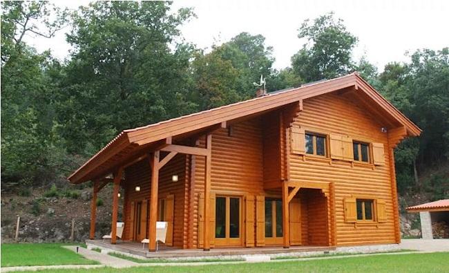 Mẫu nhà gỗ mít đẹp