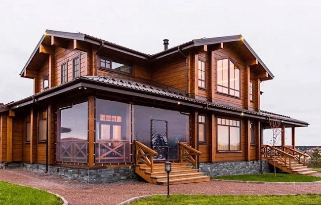 Mẫu nhà gỗ mít hiện đại