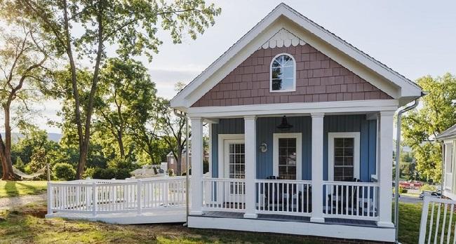 Nhà gỗ sồi trắng