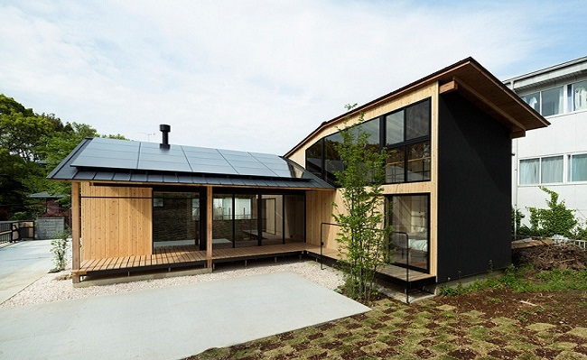 Nhà gỗ Nhật Bản hiện đại