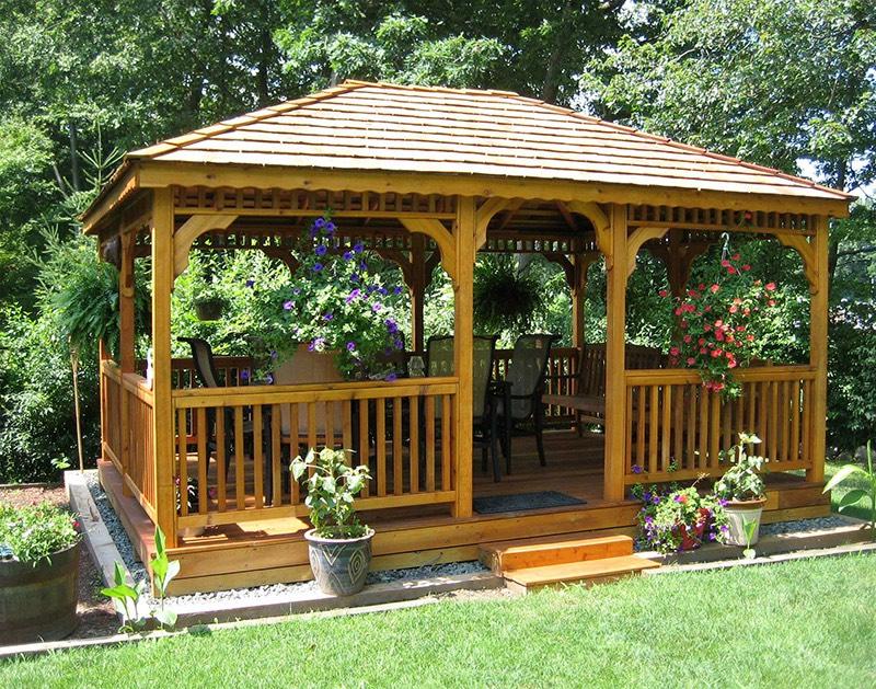 Nhà vườn gỗ
