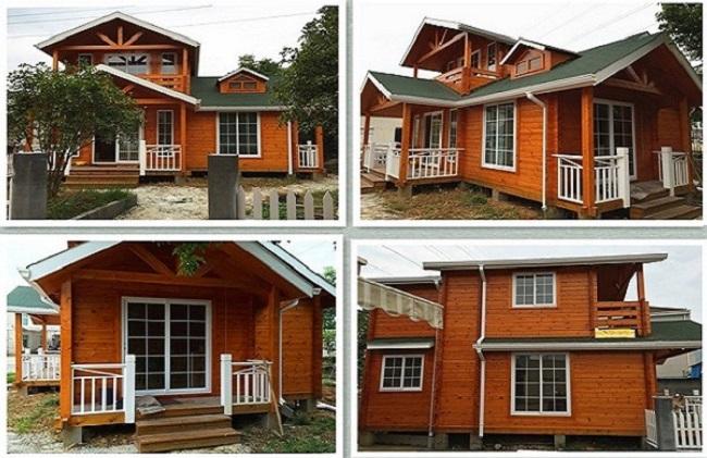 Thi công xây dựng nhà gỗ thông