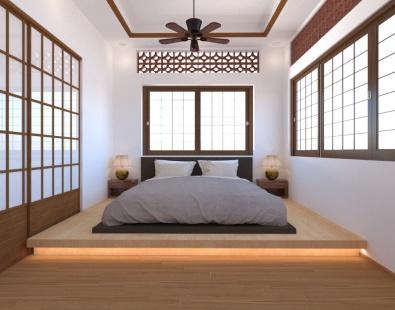 Dự án nhà gỗ kiến trúc kiểu Nhật
