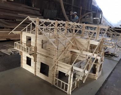 Dự án thi công nhà gỗ