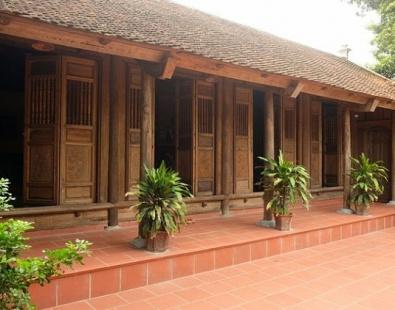 Kết cấu nhà gỗ cổ như thế nào?